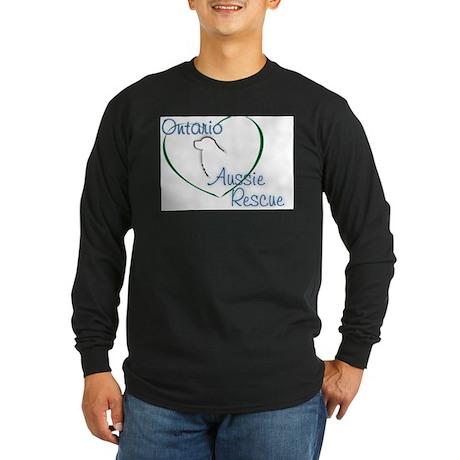 Ontario Aussie Rescue Long Sleeve Dark T-Shirt