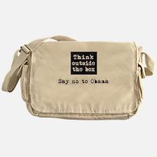Think outside the box say no to Obama Messenger Ba