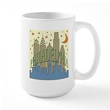 Philly Skyline beachy Mug