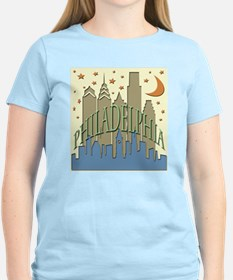 Philly Skyline beachy T-Shirt