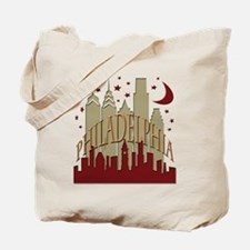 Philly skyline hot Tote Bag