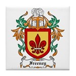 Freeney Coat of Arms Tile Coaster