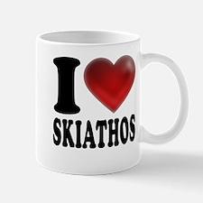 I Heart Skiathos Mug