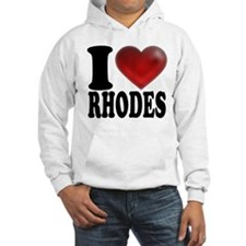 I Heart Rhodes Hoodie