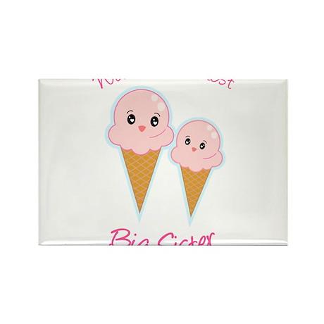 World's Sweetest Big Sister Ice Cream Rectangle Ma