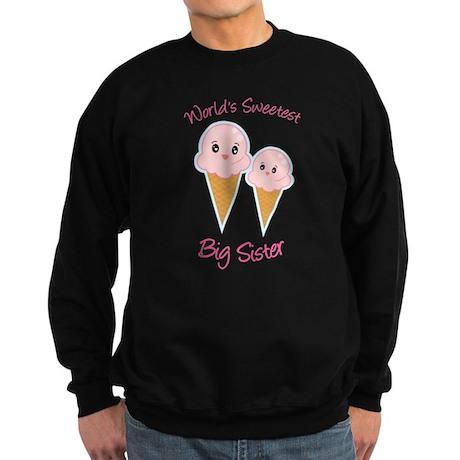 World's Sweetest Big Sister Ice Cream Sweatshirt (
