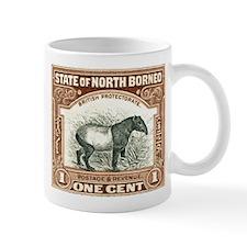 North Borneo Tapir Postage Stamp 1904 Mug