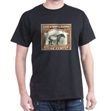North Borneo Tapir Postage Stamp 1904 T-Shirt