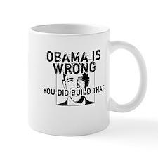 You did build that Anti Obama clever design Mug