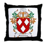 Freeman Coat of Arms Throw Pillow