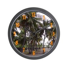 Place of Refuge Palms - Wall Clock