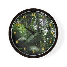 Tropical Rainforest - Wall Clock