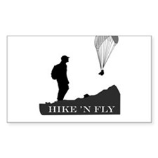 Hike 'N Fly Decal