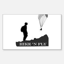 Hike 'N Fly Decal