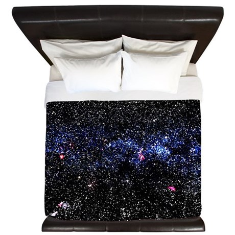 Blue Stars King Duvet