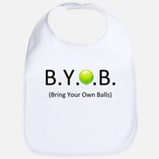 "BYOB (Bring Your Own ""Tennis"" Balls) Bib"