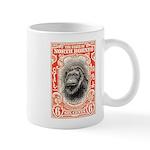 North Borneo Orangutan Postage Stamp 1931 Mug