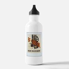 Be Careful Near Machinery Water Bottle