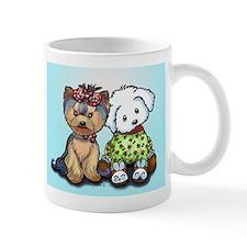 Yorkie and maltese Mug