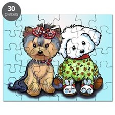 Yorkie and maltese Puzzle