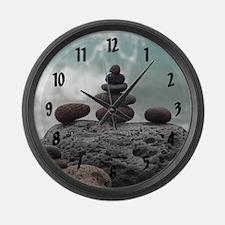 Ocean Serenity - Large Wall Clock