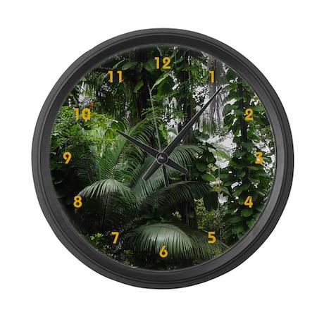 Tropical Rainforest - Large Wall Clock