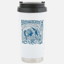French Guiana Great Anteater Stamp 1905 Travel Mug