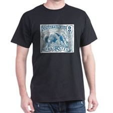 French Guiana Great Anteater Stamp 1905 T-Shirt