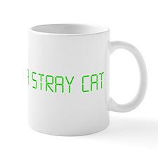 "American Psycho ""Feed Me a Stray Cat"" Small Small Mug"