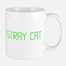 "American Psycho ""Feed Me a Stray Cat"" Small Small Mug"
