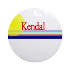 Kendal Ornament (Round)