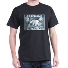 Greenland Polar Bear Postage Stamp 1938 T-Shirt