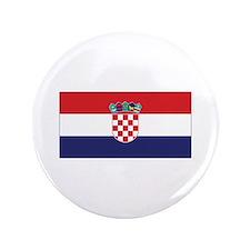 """Croatia Flag 3.5"""" Button (100 pack)"""
