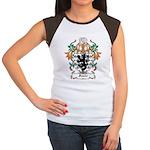 Fonte Coat of Arms Women's Cap Sleeve T-Shirt
