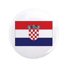 "Croatia Civil Ensign 3.5"" Button (100 pack)"