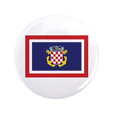 "Croatia Naval Jack 3.5"" Button (100 pack)"