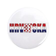 """Croatia 3.5"""" Button (100 pack)"""