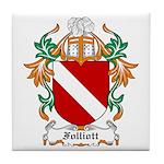 Folliott Coat of Arms Tile Coaster
