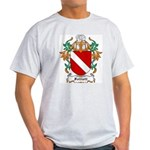 Folliott Coat of Arms Ash Grey T-Shirt