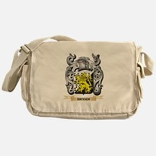 Brandi Family Crest - Brandi Coat of Messenger Bag