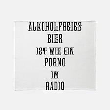 Alkoholfrei Throw Blanket