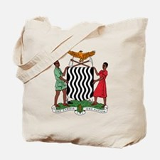 Zambia Coat Of Arms Tote Bag