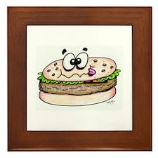 Hamburger Framed Tile