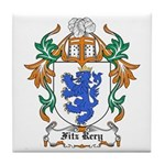 Fitz Rery Coat of Arms Tile Coaster