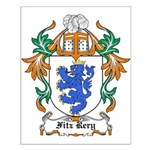 Fitz Rery Coat of Arms Small Poster