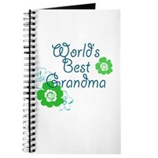 Worlds Best Grandma Journal