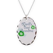 Worlds Best Grandma Necklace