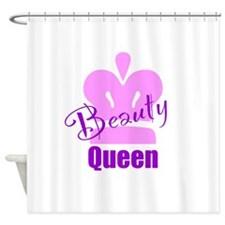Beauty Queen Shower Curtain