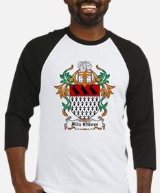 Fitz Oliver Coat of Arms Baseball Jersey