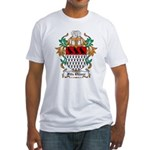 Fitz Oliver Coat of Arms Fitted T-Shirt